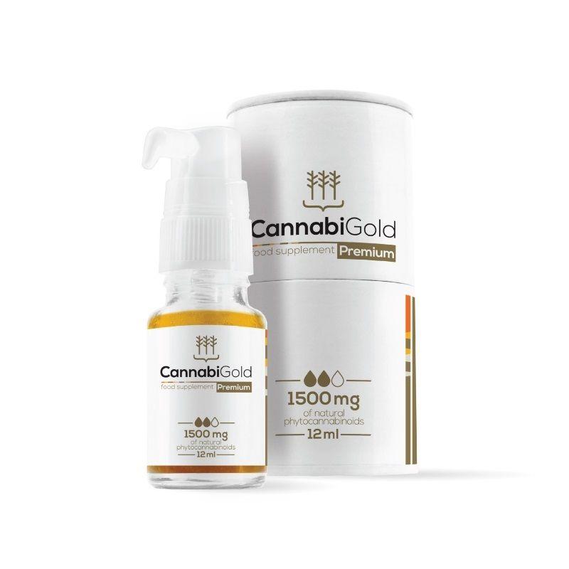 CBD Конопляное Масло CannabiGold Classic 500 мг (5%)
