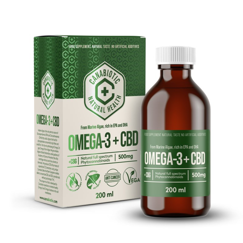 Canabiotic Omega 3 with CBD