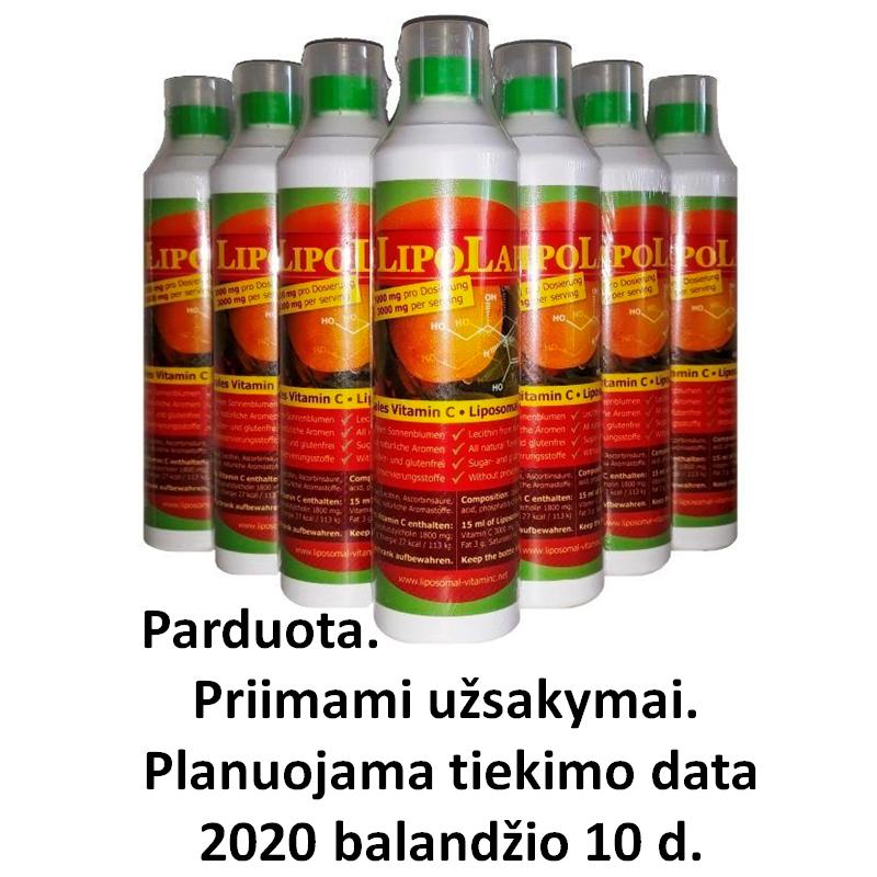 Liposomal vitamin C 500 ml