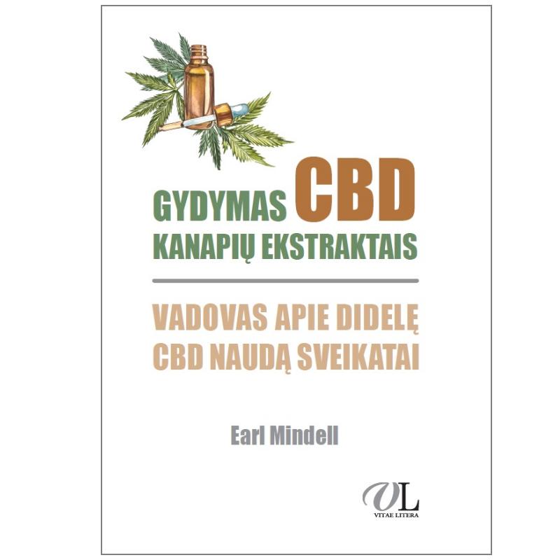 """Knyga """"Gydymas CBD kanapių ekstraktais"""""""